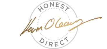 Kevin O'Leary Fine Wine - Logo | Honest. Direct.